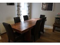 Lovely table & 6 chairs for sale- looking for quick sale so going cheap at £400