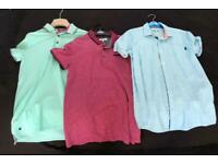 Ted Baker polo shirts X2 Aged 12-13 & 13-14 / Shirt X1 Aged 14