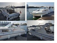 PRINCESS 25 BOAT CABIN CRUISER, FISHING, FAMILY BOAT JUST SERVICED and ANTIFOULED with TRAILER