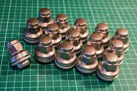 Jaguar XF wheel nuts