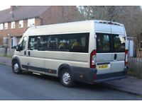 Citroen Relay 35 2.2HDI 120PS XLWB 12 seat disable access minibus with side and rear ramps