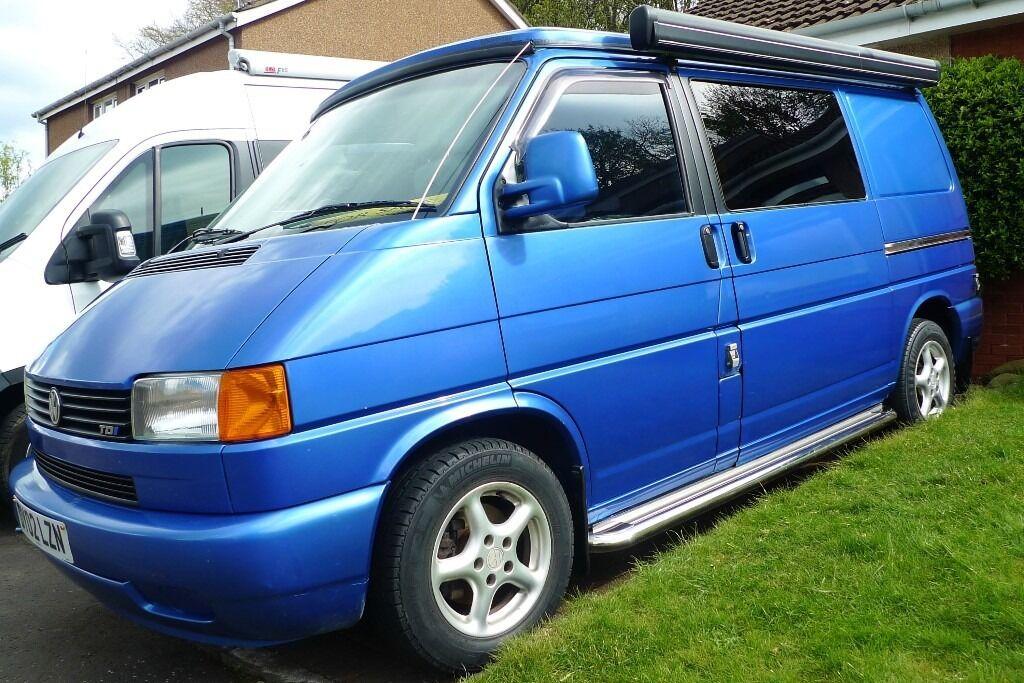 volkswagen t4 campervan 88000 miles no rust poptop fiamma