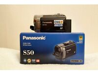 Panasonic SDR-S50 Camcorder and accessories