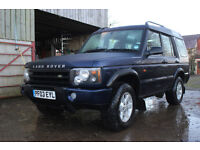 Land Rover Discovery TD5 GS 2003 manual diesel 7 seats towbar sunroofs x 2 MOT end 2017 132k