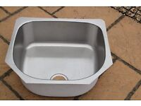 Brand New Stainless Steel Undermount D Shape Sink for sale