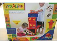 CreAtiles by Fiesta Crafts creative felt construction toy for girls and boys aged 3-10 years