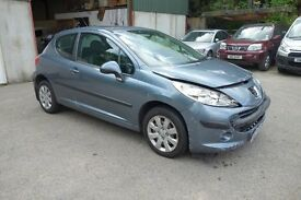 2008 Peugeot 207 S 1.4 (Petrol) *** damaged repairable ***