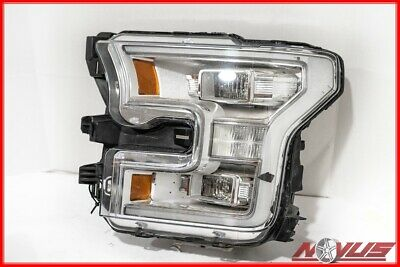 2017 FORD F150 LARIAT LEFT DRIVER HEADLIGHT LED FOR PARTS-XLT RAPTOR 2015 2016