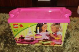Duplo Lego 6785 Cake Set & Free Toy Story Set