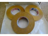 TESA double sided transparent tape, 19mm x 50M, top quality, v strong/adhesive