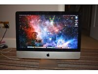 i Mac 21.5 inch, mid 2011. 2.5Ghz + mouse,keyboard & trackpad