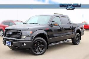 2014 Ford F-150 FX4 LEATHER HTD &COOLED SEATS