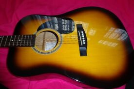 Boston Acoustic guitar for sale!