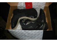 TCX S-Speed Waterproof Boots - Black / Graphite,brand new never worn.Size eu:46,,,us:12