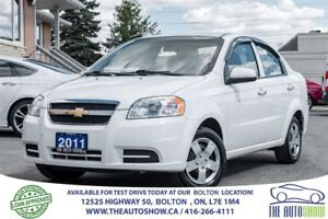 2011 Chevrolet Aveo LT AUTO/AIR ONLY 39K CERTIFIED ACCIDENT FREE