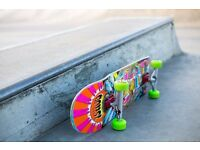 "Custom complete skateboard 8.25"""