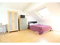 Beautiful Self Contained Studio Loft + En Suite. All Bills Inc. 1 Min to Station.