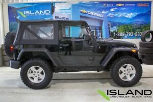 2012 Jeep Wrangler Sport | Manual | Soft Top | Tow Cable