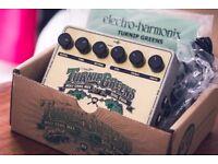BNIB Electro-Harmonix Turnip Greens
