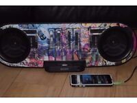 SONY IPOD DOCK/AUX IN 60W PLAY POHONE IPOD MUSIC CANBE SEEN WORKIN