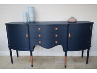 Stunning Sideboard - Navy & Copper