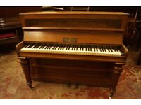 Small antique mid 1800's upright piano - UK delivery is available