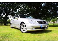 2005 MERCEDES-BENZ CLK 320 AVANTGARDE AUTO 3.2 PETROL 218 BHP **MOT 19 APRIL 2018( NO ADVISORY )**