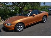 Classic mark 2 MX5 in almost mint condition. Beautifully maintained with hard top.