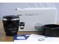 Zeiss 85mm 1.4 ZF.2 Nikon mount; boxed and Exc condition