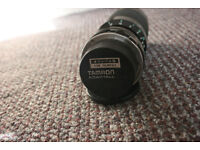 Camera objective for manual cameras