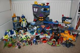 Large selection of Imaginext toys. Various prices