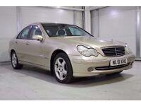 2001 Mercedes-Benz C Class 2.0 C180 Automatic Avantgarde 4dr Full Service History, New MOT