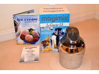 Magimix Ice Cream Maker - Model: Le Glacier 1.5. With Box and Booklet