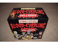 Horrible Histories Blood Curdling Box of Books. Complete set of 20 books. Used but good condition.