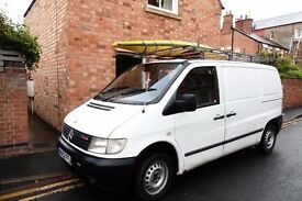 Mercedes Vito Van 52 Plate 2002 12 Month MOT Great Condition, 117,000 miles