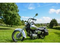 Honda Shadow 125 VT Silver