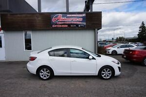 2011 Mazda MAZDA3 GX MANUELLE A/C MAGS AVEC SEULEMENT 107 000 KM