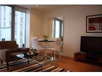 ** Luxury 1 bed apartment with balcony, gym, pool, Pan Peninsula near Canary Wharf, E14 - AW