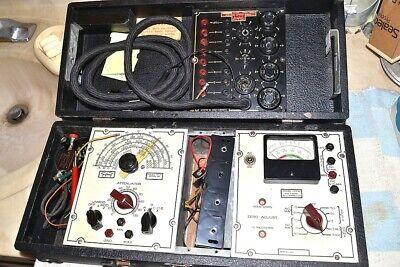 Triplett Radio Set Tester Suite 1930s Models 1151a 1125b 1166b Pro Serviced