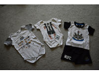 Baby Boys clothes, Newcastle United, sizes 0-3 months, 6-9 months, 12-18 months