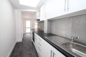 BRAND NEW UNFURNISHED/ground floor flat/two double bedrooms/bright & modern living accommodation