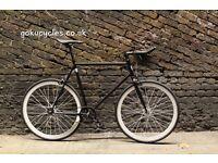 SALE ! GOKU cycles Steel Frame Single speed road bike TRACK bike fixed gear bike racing bike Q8