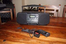 Sony CFD-S33L, CD Radio Cassette-Corder.