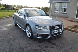 2010 Audi A5 2.0 TDI S Line Special Edition Coupe - FSH, Leather, B&O Upgrade A3 A4 A6 A7 A8 TT BMW