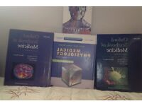 Student consult-Medical Physiology second edition+ 3 oxford medicine books worth £30+ over 2000 page