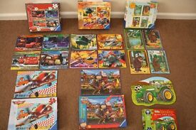 Ravensburger Puzzles Age 3-4+. 12-35 pieces. Disney Planes, Cars, Gruffalo. All 100% Complete