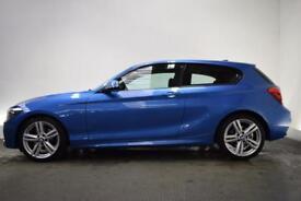 BMW 1 SERIES 2.0 125D M SPORT 3d 215 BHP (blue) 2014