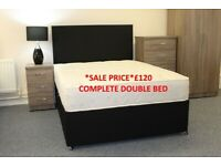 BRAND NEW COMPLETE DOUBLE BED *SALE*LIMITED TIME