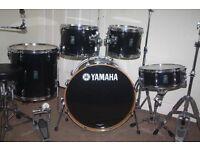 Yamaha Rydeen Black 5 Piece Drum Kit - DRUMS ONLY