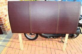 Leather Headboard